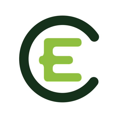 """Rheinisch-WestfälischerJugendverband """"Entschieden für Christus"""" (EC) e.V. Logo"""